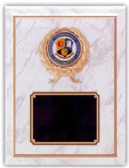 Custom Imprinted Defense Commissary Agency Plaques!