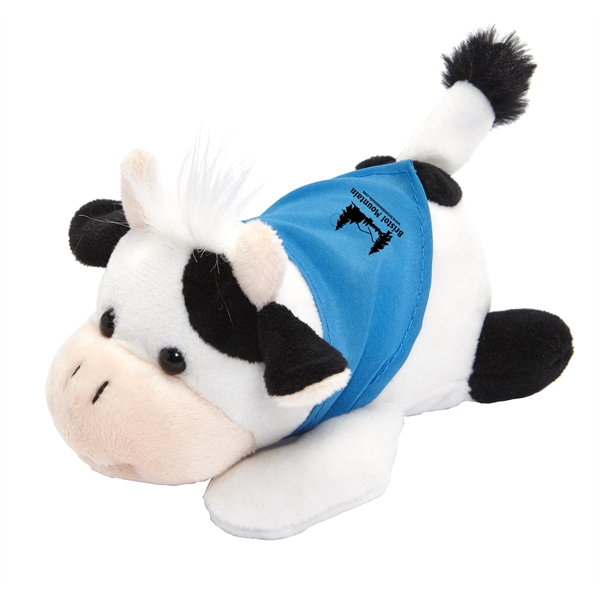 Custom Imprinted Cow Stuffed Animals!