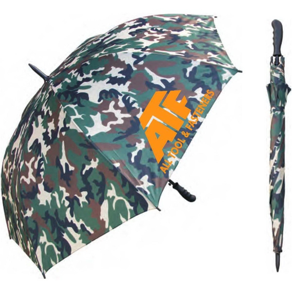 Custom Imprinted Army Umbrellas