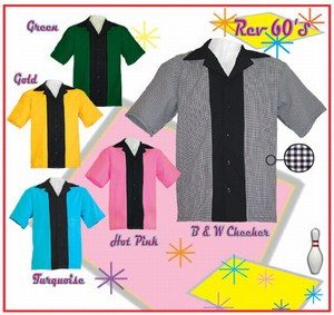 Custom Designed 60s Bowling Shirts!