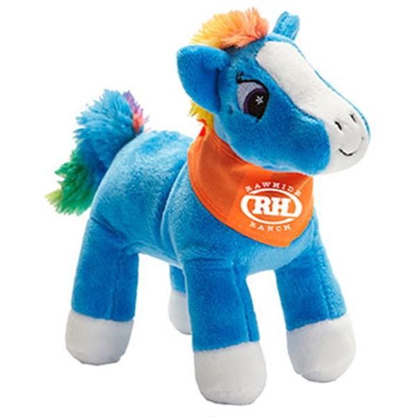 Customized Horse Mascot Plush Stuffed Animals!