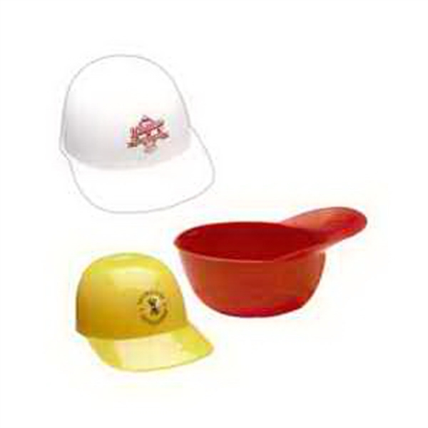 Custom Imprinted Baseball Cap Sundae Dishes