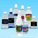 Custom Imprinted Private Label Water Bottles