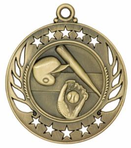 Custom Made Baseball Sunray Medals!