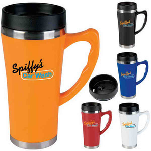 Acrylic Travel Mugs with Leak Resistant Lids
