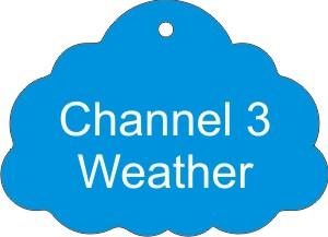 Weather Stock Shape Air Fresheners -