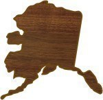 Alaska State Shaped Items - Alaska State Shaped Plaques