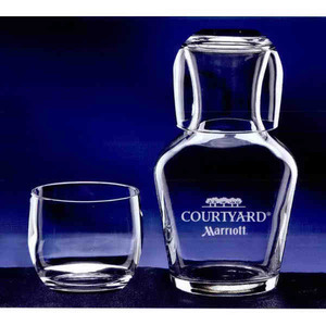 Custom Imprinted Ambassador Water Set Crystal Gifts