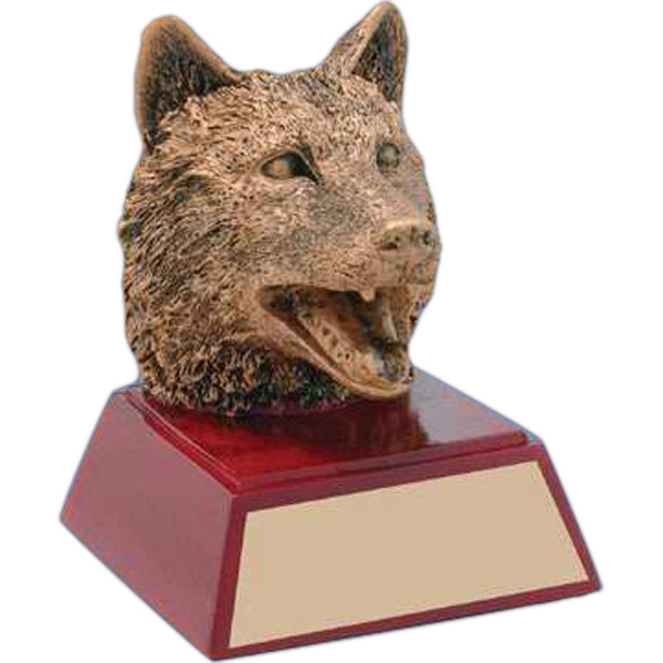 Custom Engraved Bulldog Mascot Awards