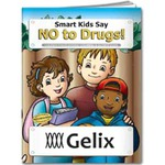 Custom Imprinted Anti Drug Themed Coloring Books