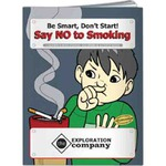 Custom Imprinted Anti Smoking Themed Coloring Books