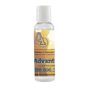 Cold and Flu Prevention - Antibacterial Hand Sanitizer Bottles