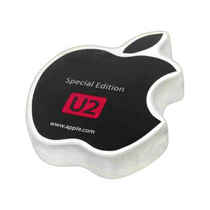 Apple Shaped Promotional Items - Apple Shaped Compressed Tee Shirts