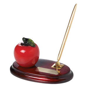 Apple Shaped Promotional Items - Apple Shaped Desk Sets