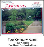 Custom Imprinted Arkansas Wall Calendars