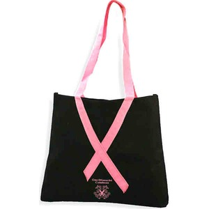 Pink Color Promotional Items - Awareness Ribbon Bags