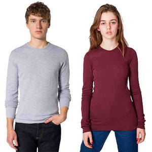 American Apparel Long Sleeve Shirts For Men - American Apparel Baby Thermal Long Sleeve Shirts For Men