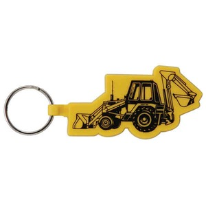 Customized Backhoe Shaped Key Tags!