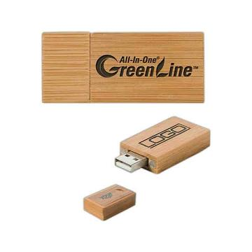 Environmentally Friendly USB Drives -