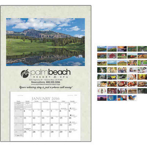 Custom Imprinted Baronet Commercial Calendars