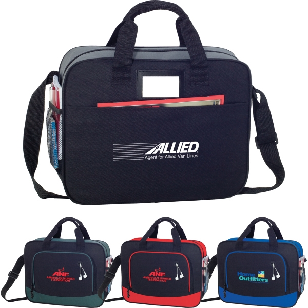 Custom Printed 1 Day Service PVC Briefcases!