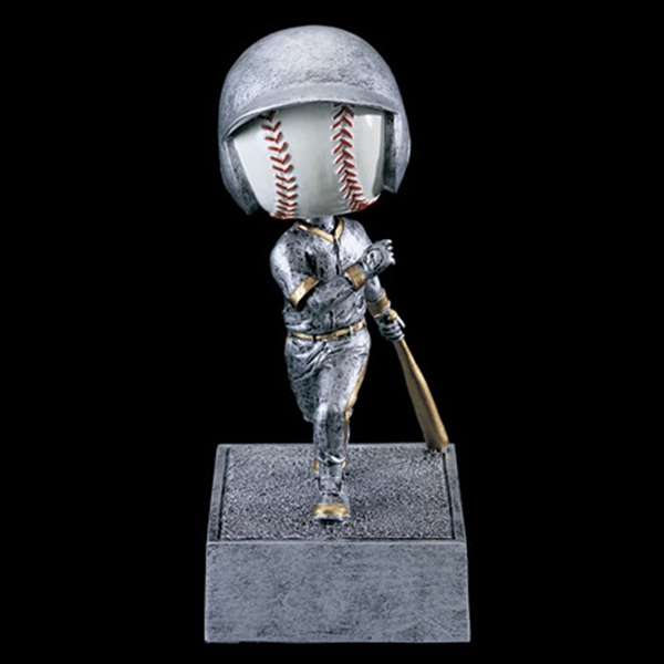 Stock Sports Bobbleheads - Baseball Head Bobble Heads