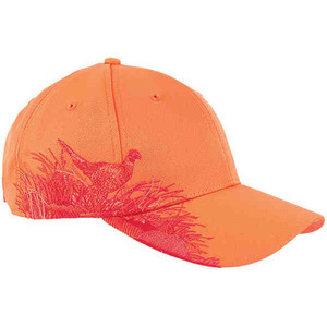 Personalized Baseball Cap Stock Design Pheasant