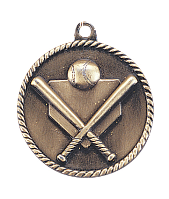 Customized Baseball High Relief Medals!