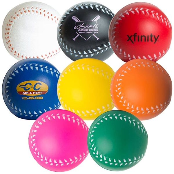Baseball Promotional Items - Baseball Stress Relievers