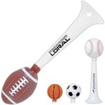 Custom Imprinted Sport Ball Shaped Sport Horns
