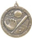 Custom Imprinted Baseball Medals