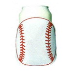 Custom Imprinted Baseball Sport Theme Can Coolers