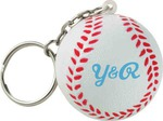 Custom Imprinted Baseball Sport Themed Keychains