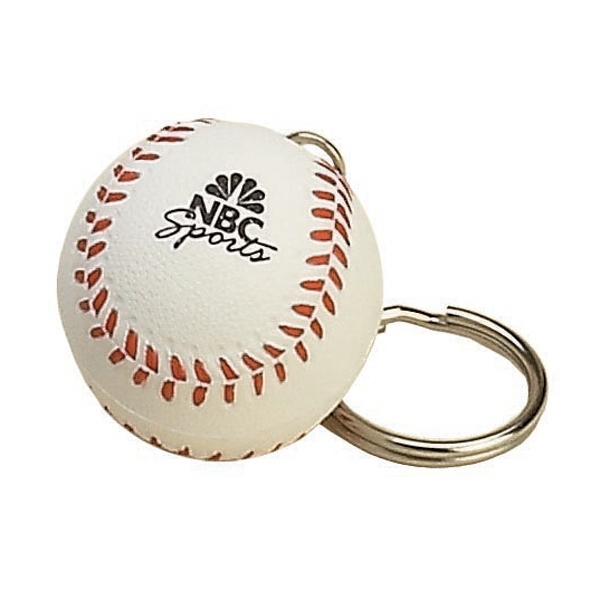 Custom Imprinted Baseball Key Chains!