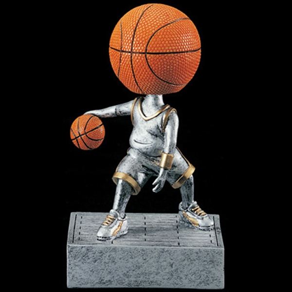 Stock Sports Bobbleheads - Basketball Head Bobble Heads