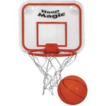 Custom Imprinted Basketball Hoop with Ball