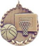 Personalized Basketball Millennium Medals