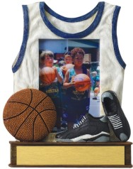 Custom Imprinted Basketball Resin Picture Frames