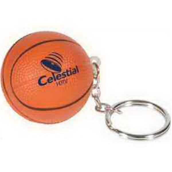 Basketball Promotional Items - Basketball Key Chains