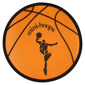 Flying Saucers And Discs - Basketball Sport Theme Folding Flyers