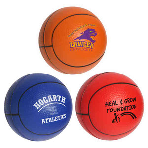 Custom Printed Basketball Stress Reliever!
