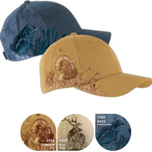 Baseball Caps with Stock Designs -