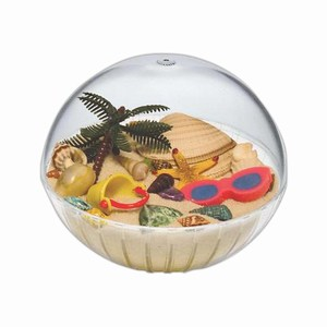 Beach Theme Items - Beach Crystal Globes