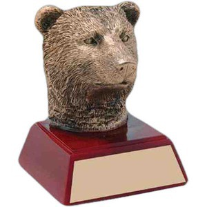 Custom Engraved Bear Mascot Awards