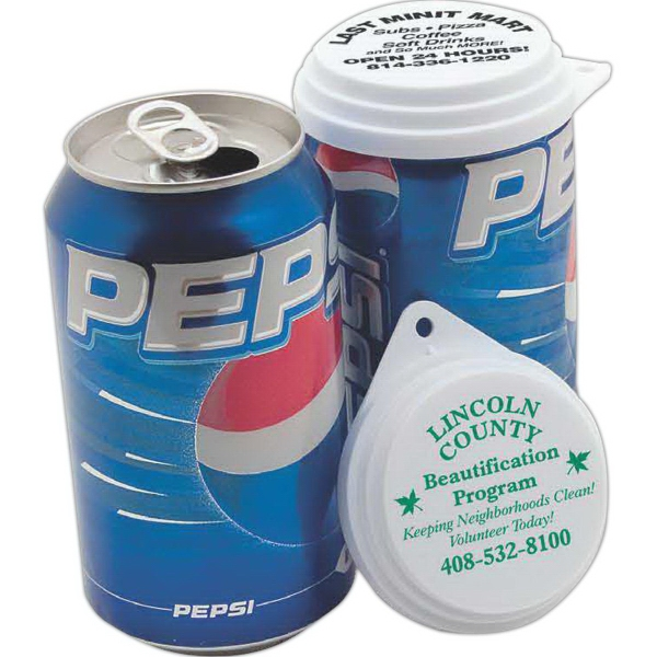 Custom Made Can Cap Beverage and Can Accessories!