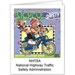 Custom Printed Bicycle Safety Coloring Books!