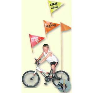 Custom Imprinted Biking Sport Safety Flags
