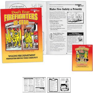 Fire Safety Coloring Books - Bilingual Firefighter Coloring Books