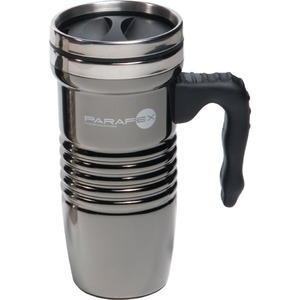Black Chrome Stainless Steel Travel Mugs - Black Chrome Stainless Steel FDA Compliant Travel Mugs