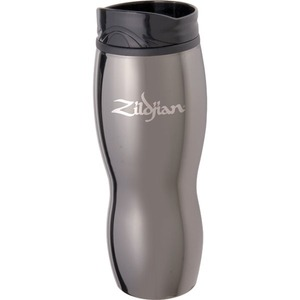 Custom Imprinted Black Chrome Tumbler Travel Mugs
